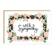 Jade Fisher 'With Sympathy' Card